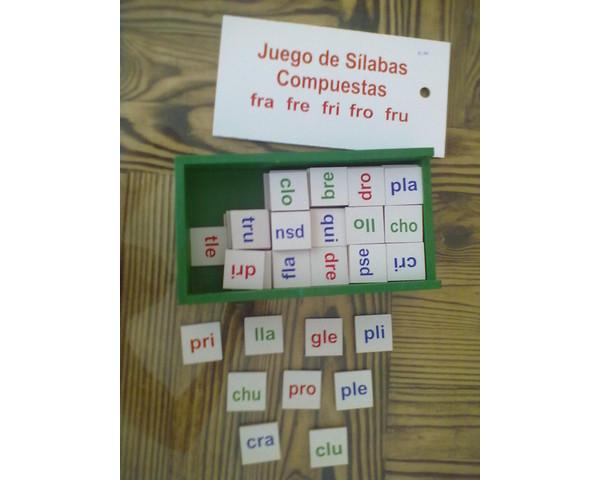 Palabras Silabas Compuestas Sílabas Compuestas